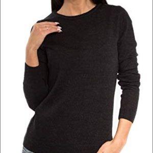 Banana Republic Small Black Merino Wool Sweater